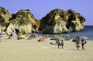 Tres Irmaos beach at Alvor